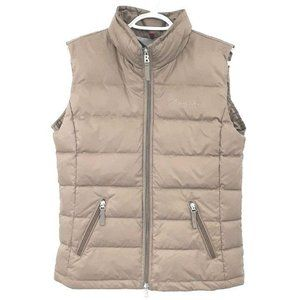 Bogner Fire + Ice Brown Down Puffer Vest Full Zip